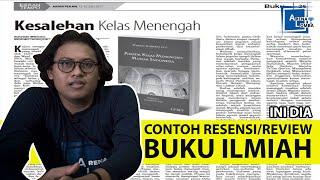 Contoh Resensi Buku Ilmiah | ArenaLomba | Juara