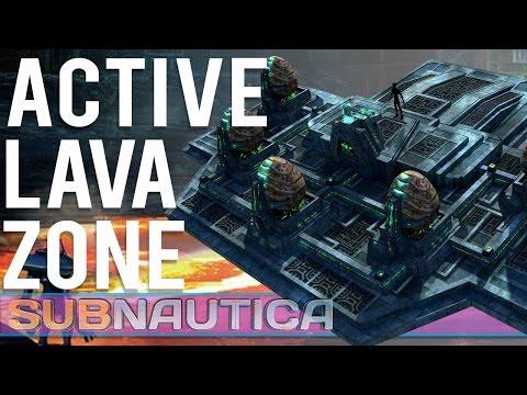 Subnautica - #24 - Research Facility Area, Active Lava Zone, and More!