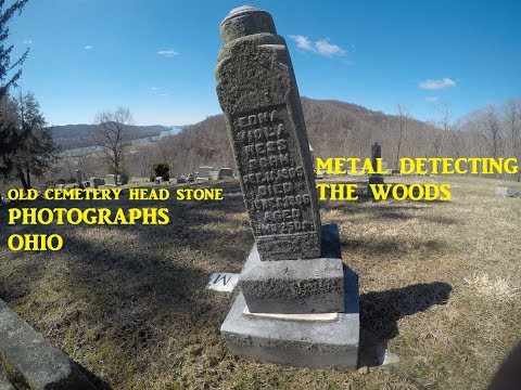 Old Ohio Valley Cemetery & Short Metal Detecting Hunt