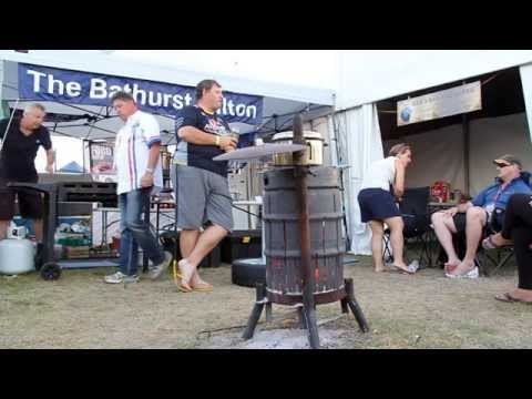 Camping at Bathurst - Jack Daniel's Racing