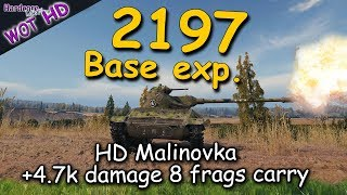 WOT: T71 scouting Malinovka, 2.2k base exp. as top tier, WORLD OF TANKS