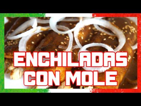 ENCHILADAS DE MOLE | RECETA MEXICANA - YouTube