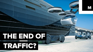 Airbus creates a flying car concept designed to end traffic jams