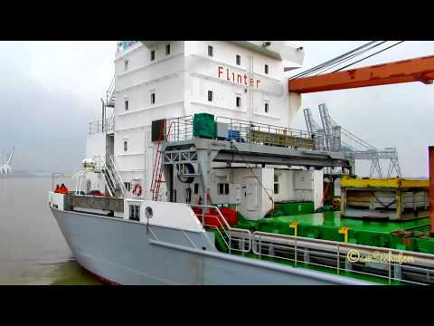 Flintermar ex Ual Malabo - IMO 9327322 - Emden - cargo windcraft components Turmteile