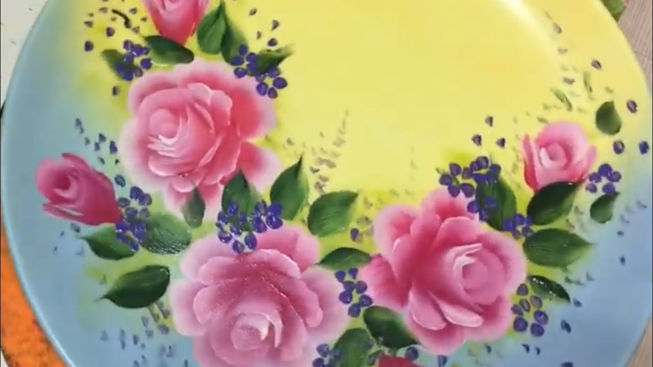 How To Paint Porcelain In Acrylic