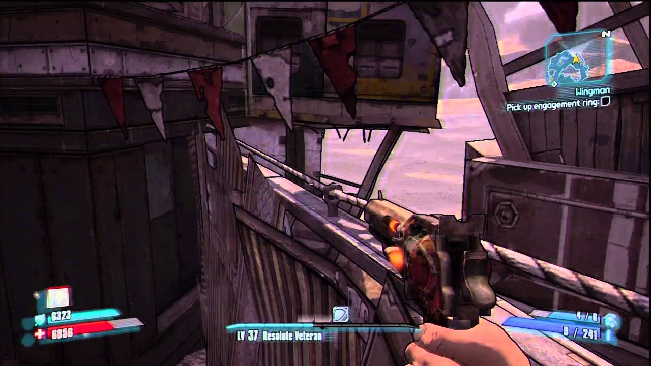 Borderlands 2 - How to Reach the Sheriff's Loot