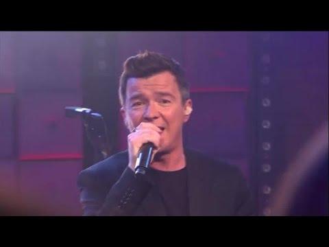 Rick Astley - Uptown Funk - RTL LATE NIGHT