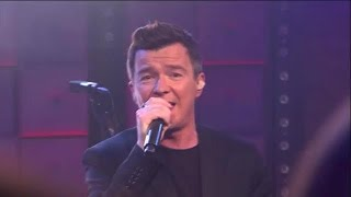 Rick Astley - Uptown Funk - RTL LATE NIGHT