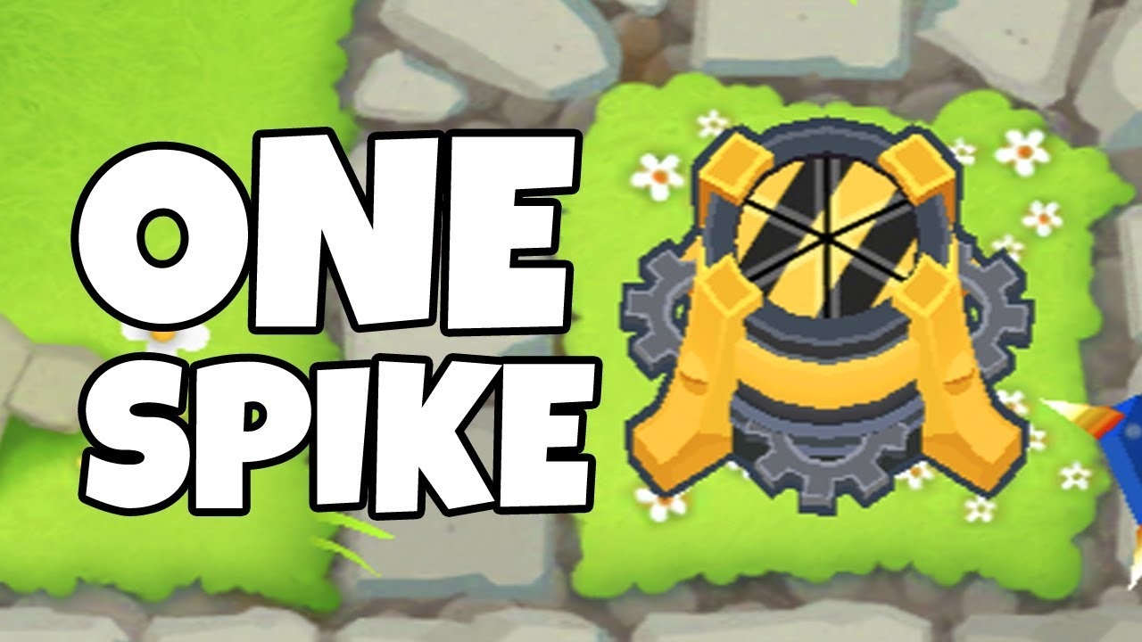 How Long Can You Survive With 1 Spike Factory? (Bloons TD 6)