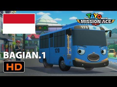 Kumpulan Kartun Lucu Animasi L Tayo Movie Bahasa Indonesia L Misi Penyelamatan Ace L Bagian 1