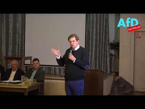 Infoabend der Alternative für Deutschland AfD mit Dr. Max Krah KV DD