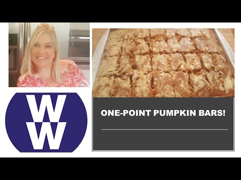 one-point-pumpkin-bars-|-ww-freestyle-|-cook-with-me!