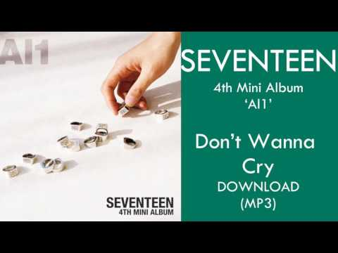 SEVENTEEN - Don't Wanna Cry (울고 싶지 않아 )(MP3)+DOWNLOAD