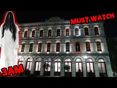 [MUST WATCH] REAL GHOST VOICE CAUGHT ON CAMERA AT 3AM AT HAUNTED PICO HOUSE | LIGHTS OUT CHALLENGE