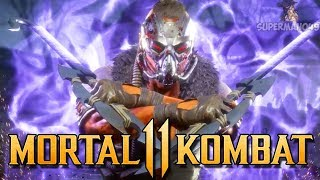 "PLAYING WITH KABAL'S AIR DASH SPECIAL! - Mortal Kombat 11 Online Beta: ""Kabal"" Gameplay"