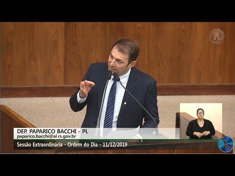 O seguimento de comentário com Paparico Bacchi falando sobre desempregos no Rio Grande do Sul