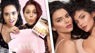 Trying the ENTIRE Kendall x Kylie Cosmetics Collab! *Brutally Honest Review*