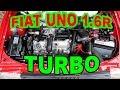 FIAT UNO 1.6R TURBO SANTI LALE URUGUAY TURBO DIVISION / DYNO PARTS