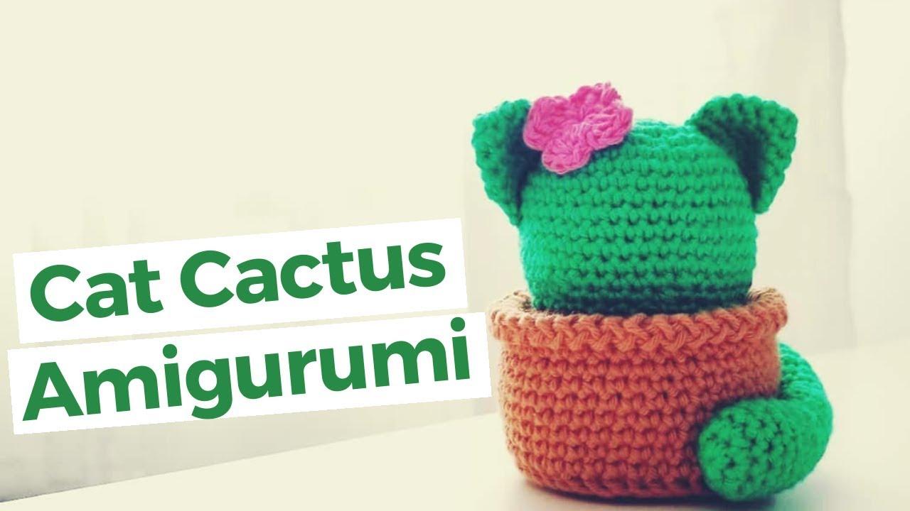 Crochet Cactus Amigurumi Pattern - Sir Purl Grey | 720x1280