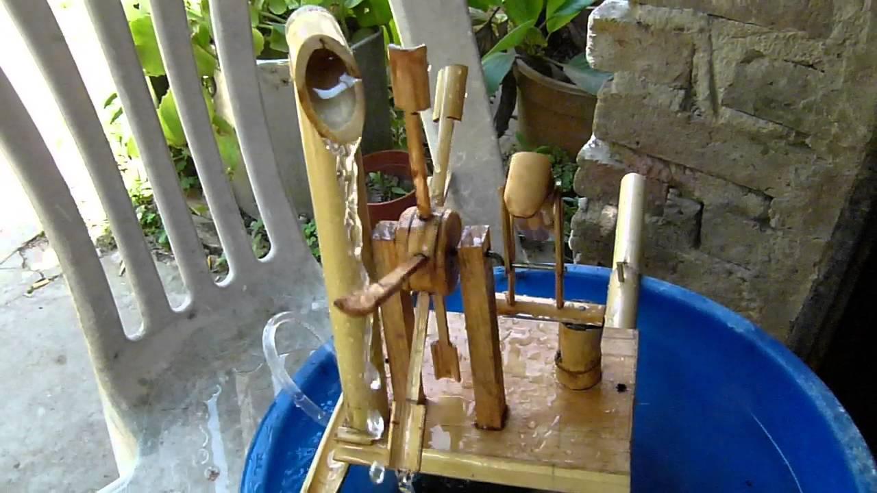 Fuente de agua con movimiento youtube - Motor de fuente de agua ...