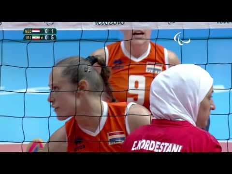 Sitting Volleyball | P2 - Women's 5-6 Classification | Rio 2016 Paralympic Games