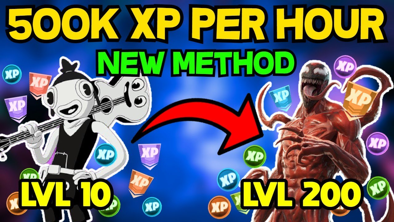 Download NEW 500K XP EVERY HOUR SOLO XP METHOD FORTNITE CHAPTER 2 SEASON 8 (How to Level Up fast in Fortnite)