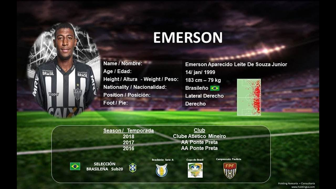 Emerson Lateral Derecho Right Winger Lateral Direito