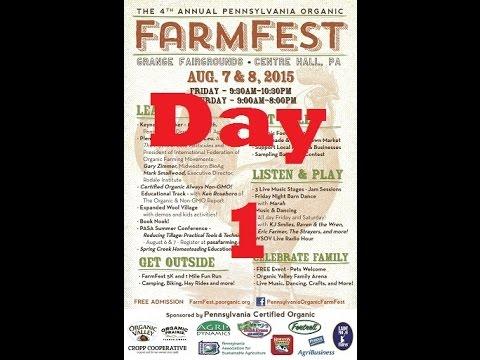 PA Organic Farm Fest - Part 1