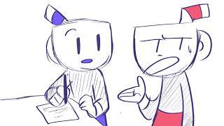 Gambar cover Working hard or hardly working (cuphead animatic)
