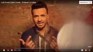 Luis Fonsi, Demi Lovato - Échame La Culpa - 0:24 - 0:44