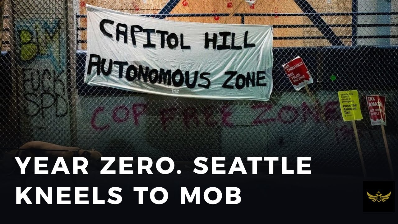 Year ZERO insanity. Seattle kneels to the mob (Before the video)