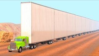 Monstrous Trucks #1 - BeamNG Drive | Crashes Plus