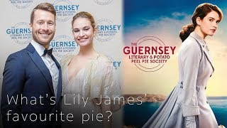 What's Lily James' favourite pie? - The Guernsey Literary and Potato Peel Pie Society