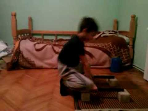 Straddle Planche (Not full form) 8 years old!