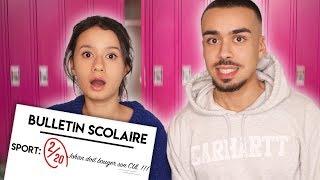MA SOEUR LIT MES BULLETINS SCOLAIRES ( COLLÈGE / LYCÉE ) !!!