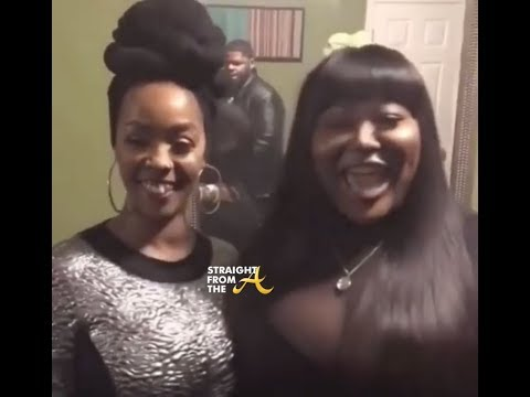 """Khia & TS Madison (The Queens Court) Perform """"Next Caller"""" in DC (2.17.18)"""
