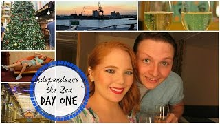 Independence of The Sea Day One // Boarding & Swimming (Vlog Dec. 6th)