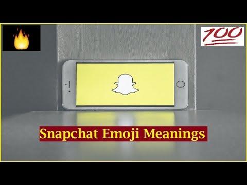 Streaks in snapchat emoji meanings