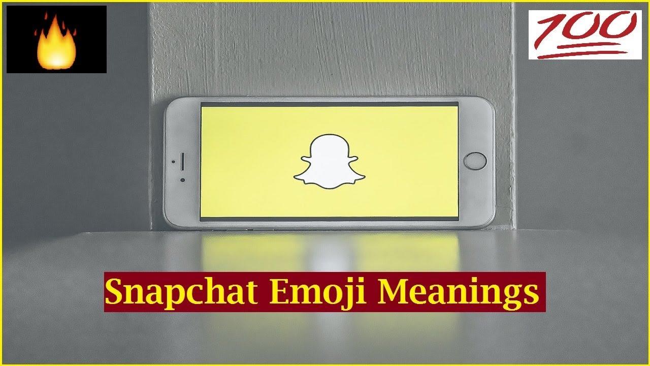snapchat emoji meaning 😊