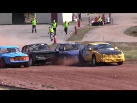 Folkrace - Fjärås MK - Highlights