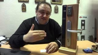 Электромеханический бесконтактный замок CISA для гостиниц(, 2013-12-25T00:20:48.000Z)