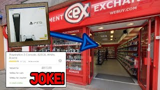 CEX IS AT IT AGAIN (PS5 RIP-OFF SCAM)