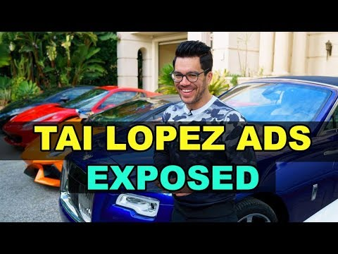 The TRUTH behind why Tai Lopez ads are SO EFFECTIVE