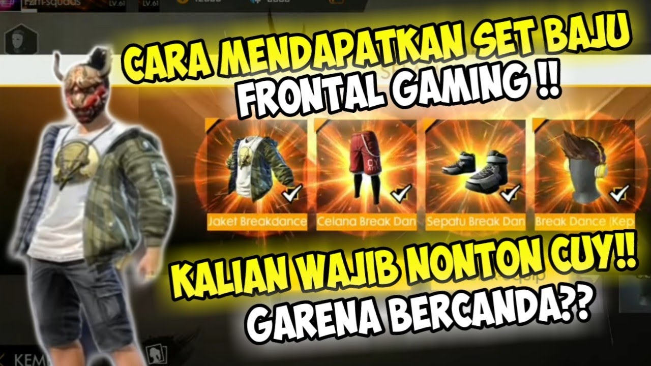 Wallpaper Free Fire Frontal Gaming