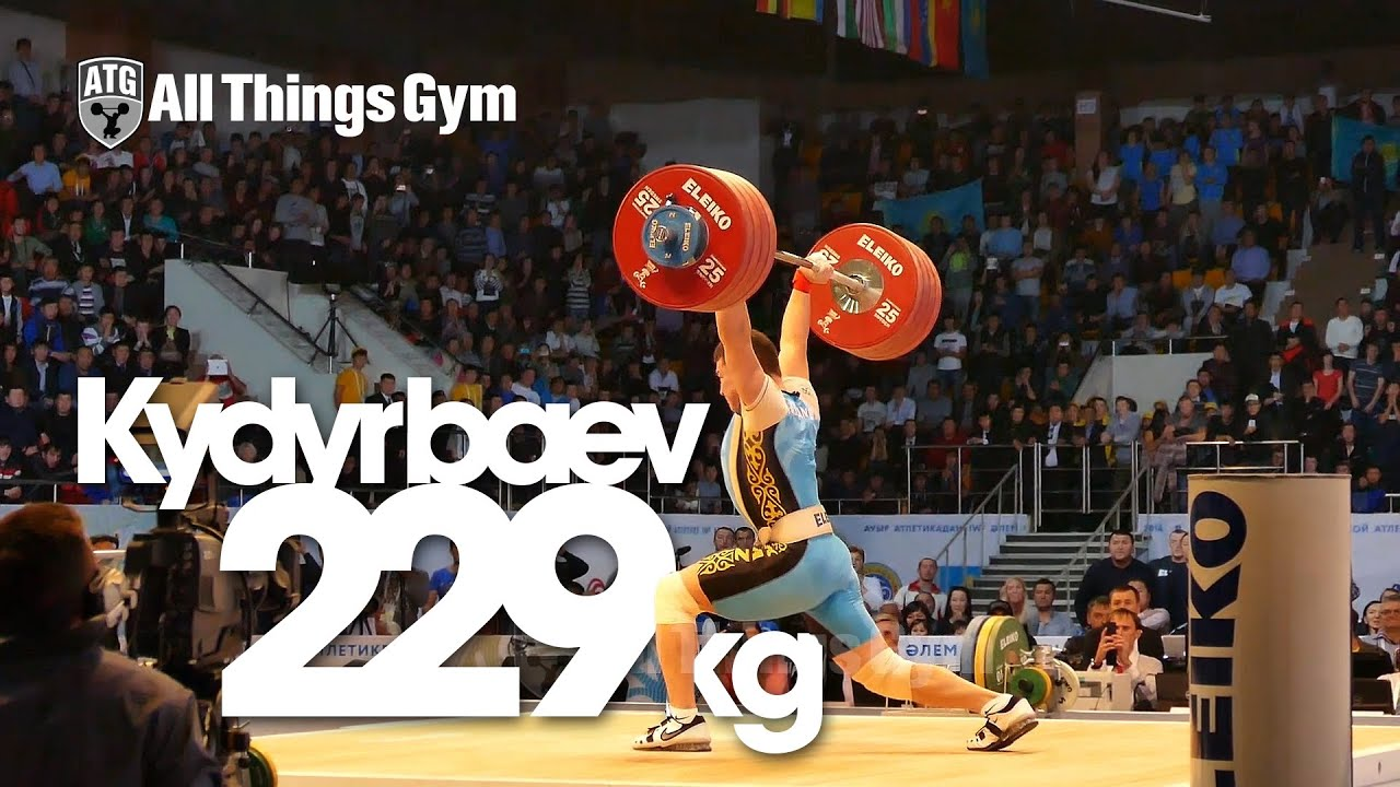 Zhassulan Kydyrbaev 229kg Clean & Jerk Almaty 2014 World