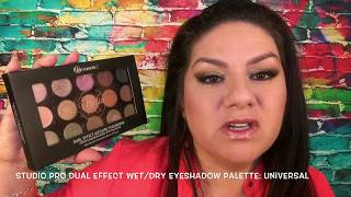 Studio Pro Dual Effect Wet/Dry Eyeshadow Palette: Universal Review