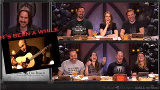 """The cast of Critical Role can't escape  """"It's been a while"""" by Staind"""