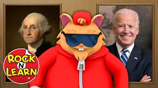 Presidents of the United States - Last Name Only - Washington Through Biden - Rock 'N Learn