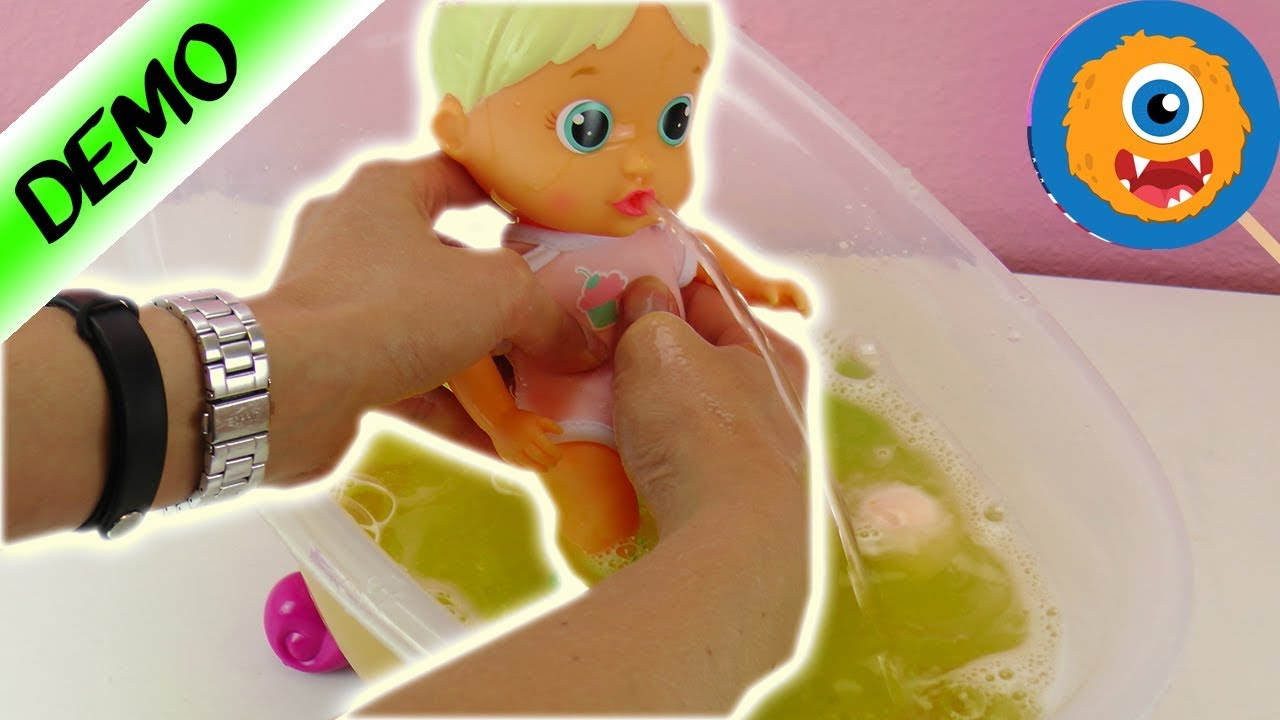 Bloopies Bath Toy | Doll can snorkel, squirt water and blow ...