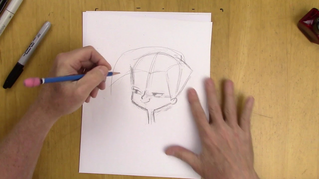 Cartoon Character Design - For Beginners